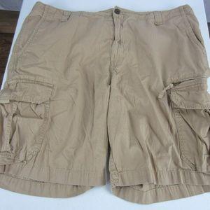 Chaps Men's Sz 40 Hiking Cargo Shorts Rip-Stop